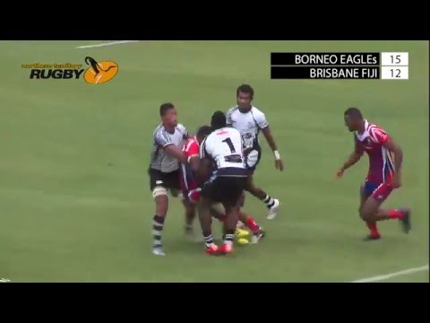 Borneo Eagles v Brisbane Fiji; Hottest 7s 2016; Day One; Field One