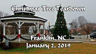 Christmas Tree Teardown