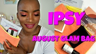 AUGUST IPSY GLAM BAG | BEAUTY BY KANDI