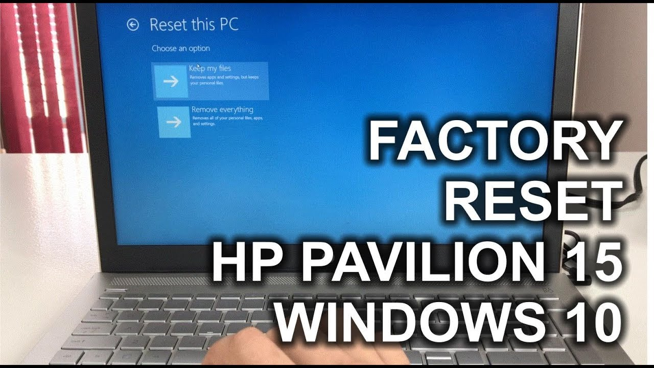 How to ║ Restore Reset a HP Pavilion 30 to Factory Settings ║ Windows 30