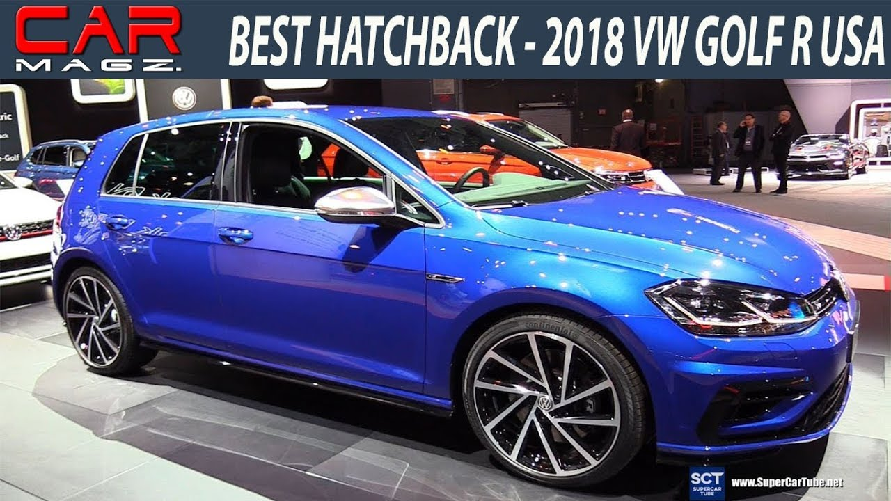 2018 Vw Golf R Usa Facelift Review And Specs