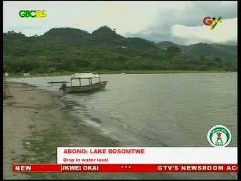 Lake Bosomtwe shrinks as fish stock reduces