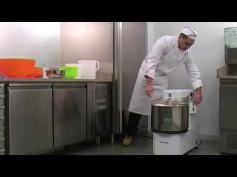 Кухонный комбайн тестомес First FA 5259 - YouTube