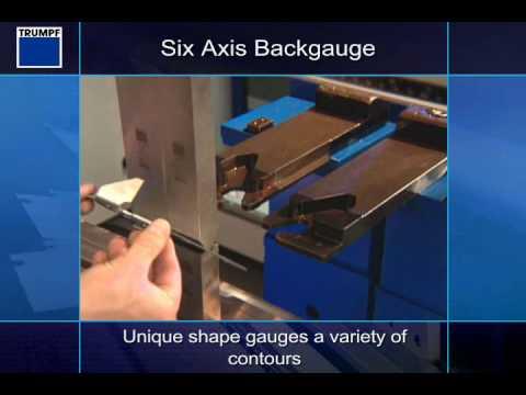 Trumpf Press Brake - Six Axis Backgauge