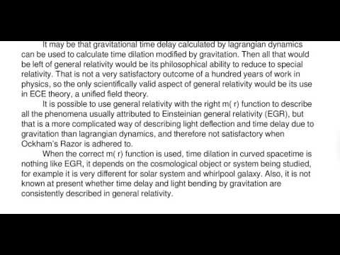 Essay 45   The Future of General Relativity