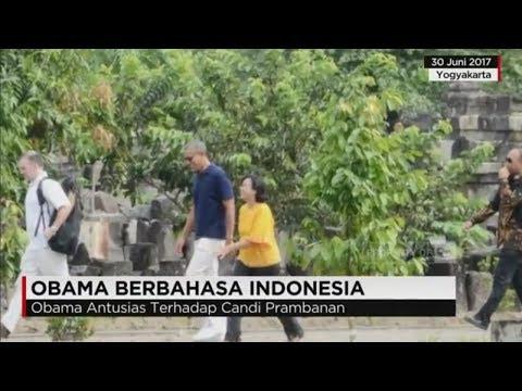 Cerita Soal Guyonan Obama Berbahasa Indonesia