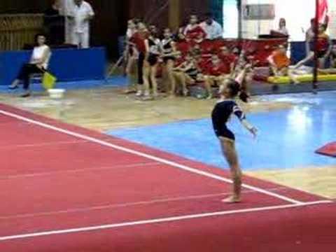 Raluca Haidu FX EF Romanian Nationals 2008