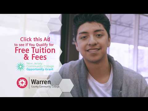 Warren County Community College - Free Tuition and Fees!