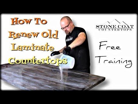Renew Old Laminate Countertops