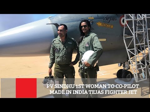PV Sindhu 1st Woman To Co-Pilot Made In India Tejas Fighter Jet | Sports News
