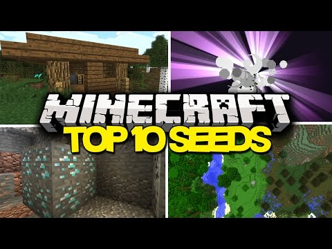 Top 10 Minecraft Seeds - Best Minecraft Seeds (1.9) 2016
