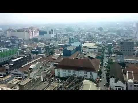 Bandung City, Indonesia (A View from The Great Mosque of Bandung)