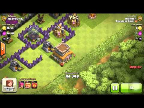 Clash Of Clans - How To Farm & Not Lose Trophies