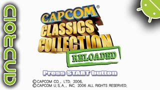 [60 FPS] Capcom Classics Collection Reloaded NVIDIA SHIELD Android TV PPSSPP Emulator 1080p Sony PSP