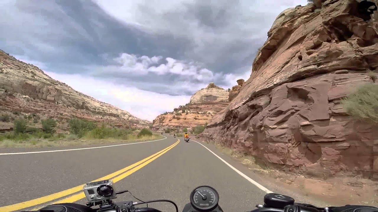 Utah Motorcycle Road Trip Ep Escalantes Badassery Utahs - Interactive motorcycle map of the us