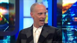 "Director John Waters ""Hitchhiked across America"" LIVE Australian Tv Interview 7-3-2014"