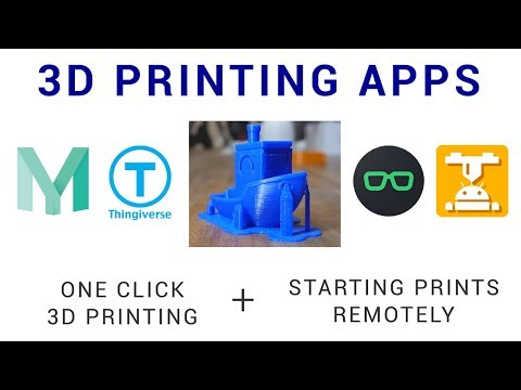 3D printings apps - One click and remote printing