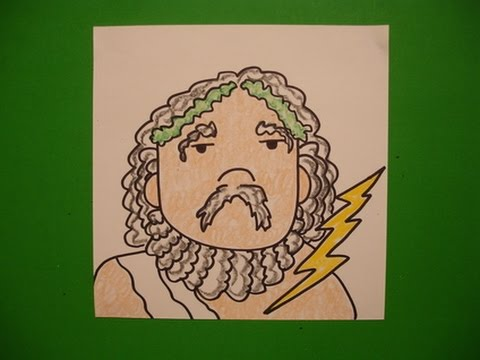 Let S Draw Zeus Youtube
