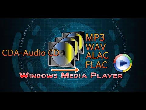 Mit Windows Media Player Musik Konvertieren - WAV, FLAC, AAC, MP3,CDA