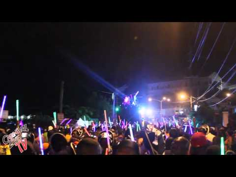 Grenada 2011 Carnival LIME Band Monday Night Glow Mas (Tallpree - Just Jab)  Part 5 Carnival Live tv