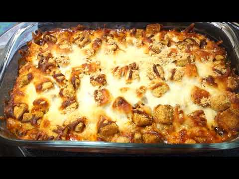 EASY CHICKEN PARMESAN BAKE!