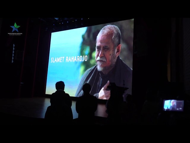 Peluncuran Web Tokoh Perfilman - Slamet Rahardjo