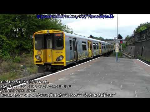 Season 8, Episode 398 - Trains at Bank Hall station