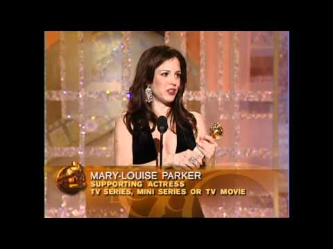 Weeds Star Mary Louise Parker Wins Best Supporting Actress TV Series - Golden Globes
