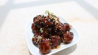 Best Teriyaki-Sriracha Meatballs recipe by SAM THE COOKING GUY