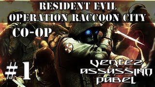 Zagrajmy w Resident Evil Operation Raccoon City CO-OP #1 (Pabel, Assassino, Vertez) PC PL HD