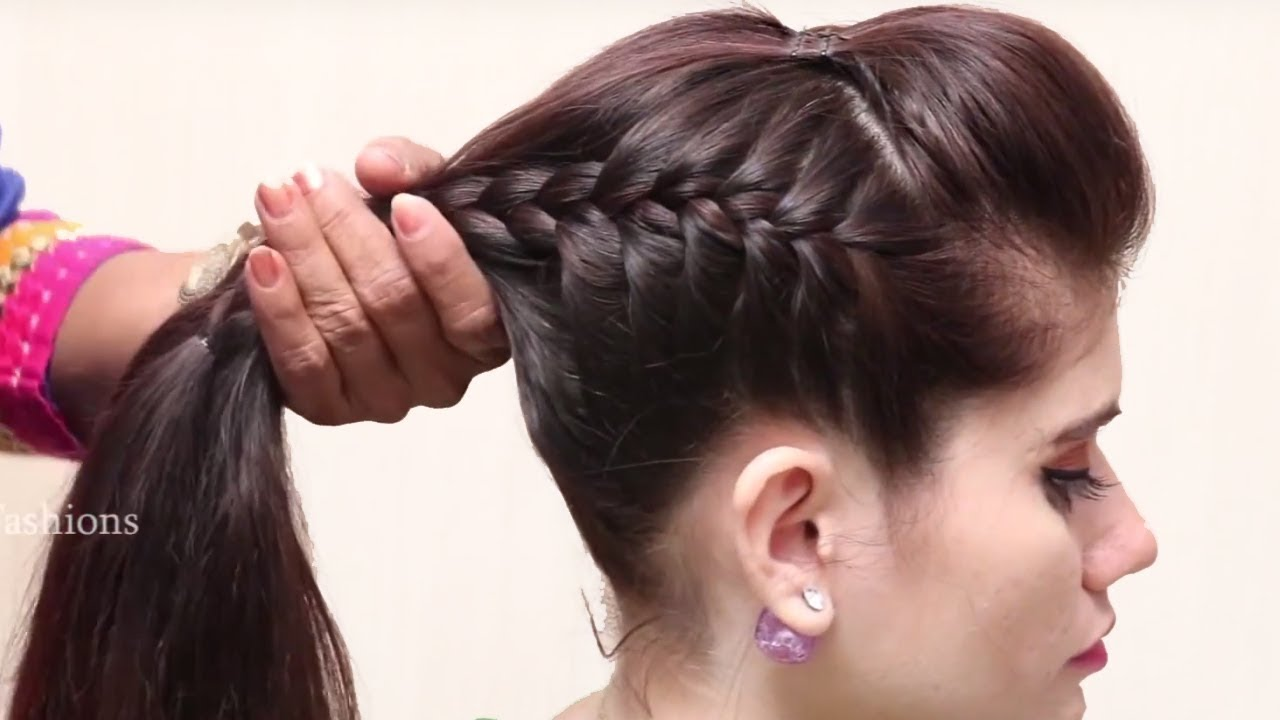 Beautiful Unique Hairstyle for Long Hair  Hairstyle