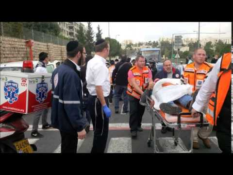 United Hatzalah Dispatcher During Terror Attack