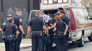 Woman in custody for shoplifting