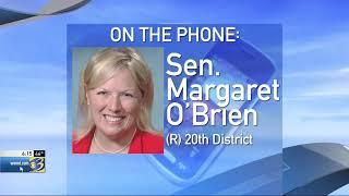 Sen. O'Brien discusses marijuana legalization