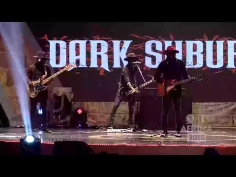 AFRIMA 2015 Live Performance from Dark Suburb Rock Artiste Ghana