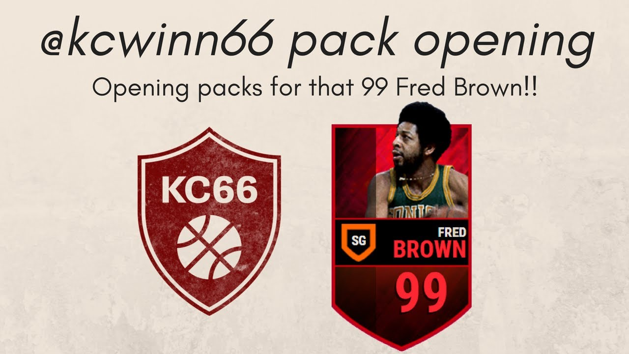 OPENING PACKS TO TRY PULLING 99 FRED BROWN ANY 🔥🔥🔥