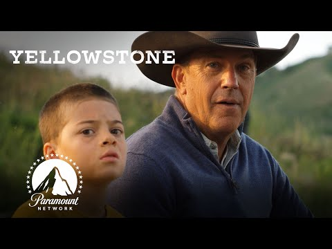 John Takes Tate Fishing 🎣 Yellowstone | Paramount Network