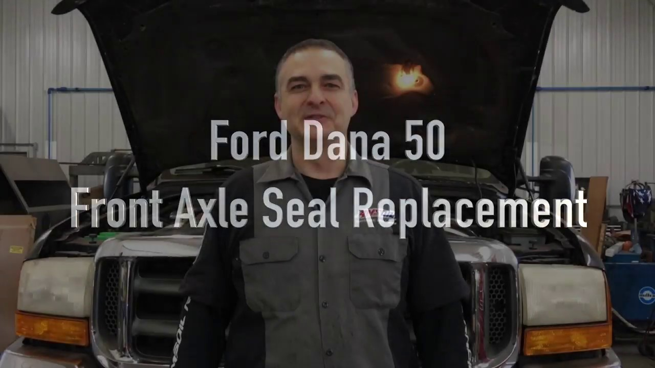 Ford F350 Dana 50 front Axle Seal Replacement