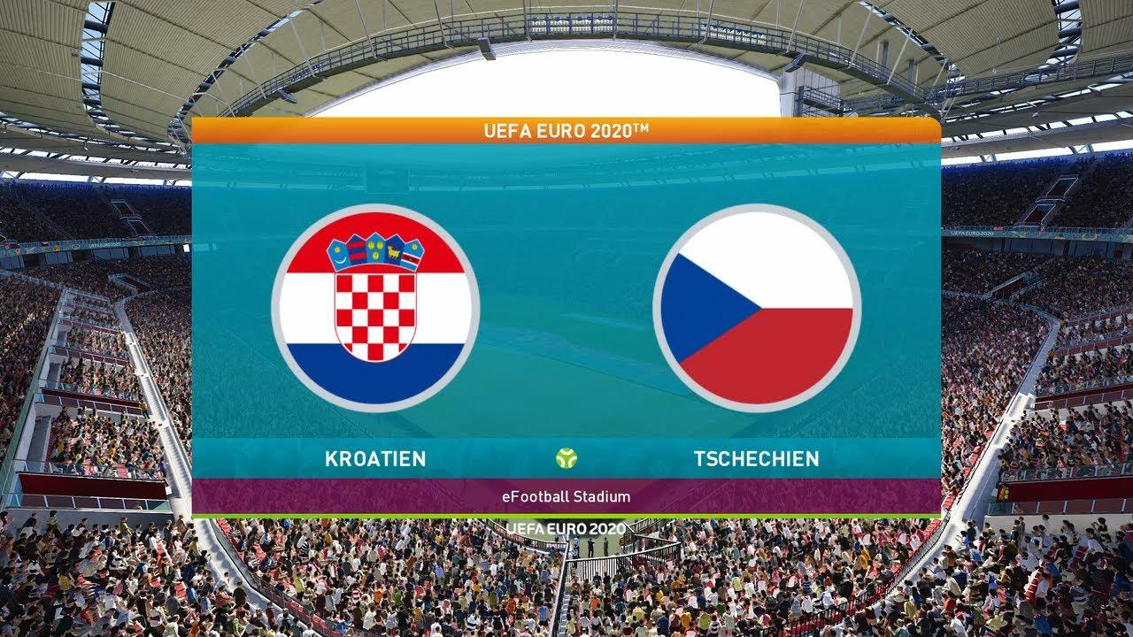 Spiel Tschechien Kroatien