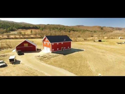 Time Lapse of our Home Construction in Waterbury, Vermont