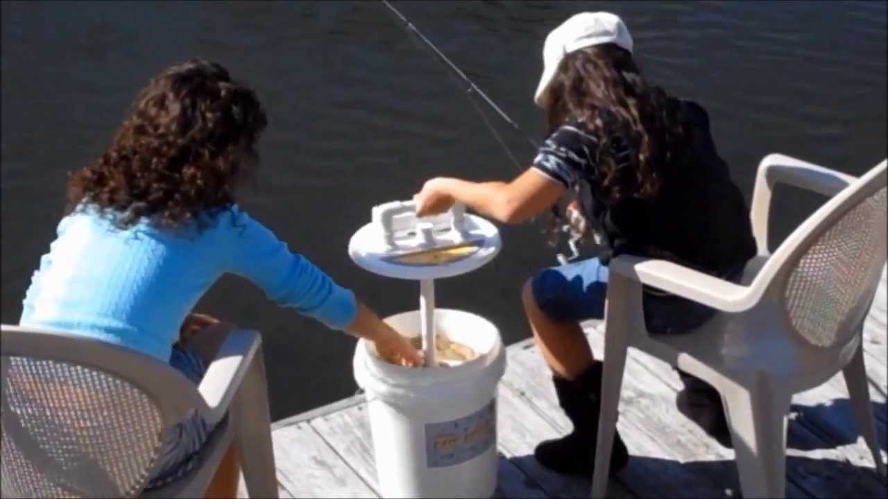 Bait Bucket Aerator Tackle Box Pump Bait Station Flash