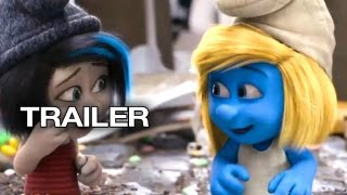 Smurfs 2 Official Trailer #1 (2013) - Neil Patrick Harris Animated Movie HD