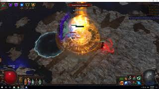 [POE][3.0][HG ST] Inquisitor Elemental Blade Flurry lvl.92 DPS 2.7M Deathless!!