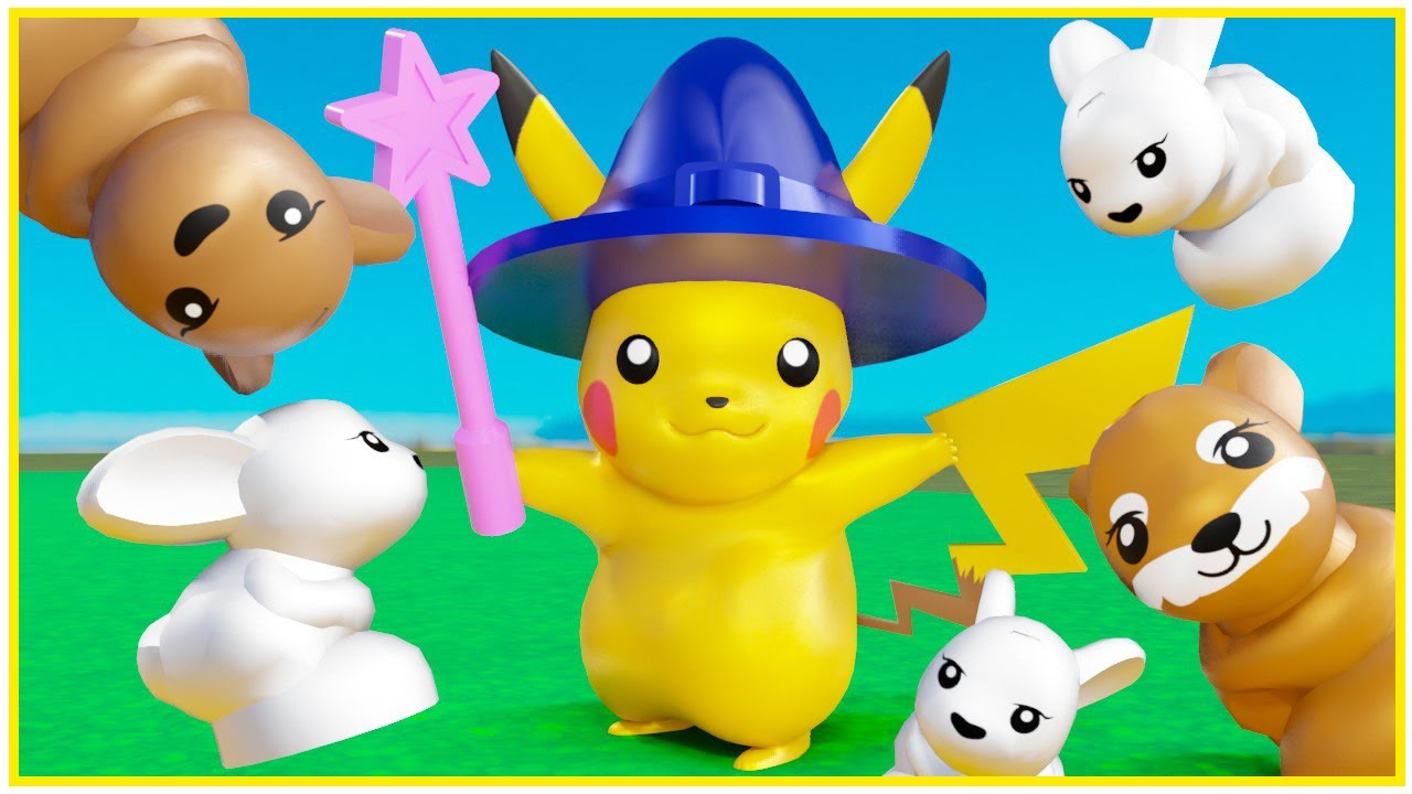 LEGO POKEMON GO Pikachu the Wizard and more fun animations