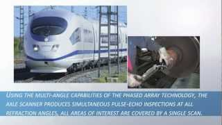 Phased Array Train Axle Scanner