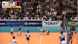 V・プレミアリーグ女子 2014/15 - 15-11-2014 久光製薬スプリングス vs 東レ·アローズ