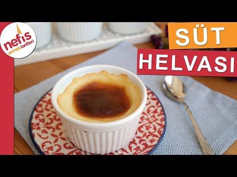 Süt helvası tarifi - Bursa'nın meşhur tatlısı