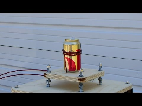 Can Crusher: See a Magnetic Impulse Deform a Can