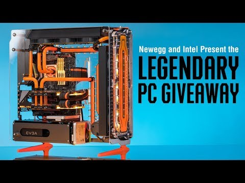 The Newegg and Intel Legendary PC Sweepstakes!   Singularity Computers
