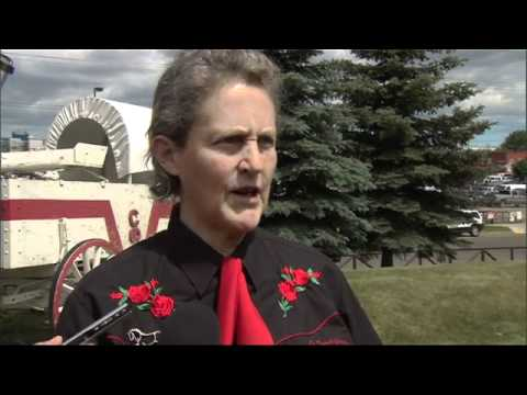Temple Grandin on Animal Care - Calgary Stampede Full Interview